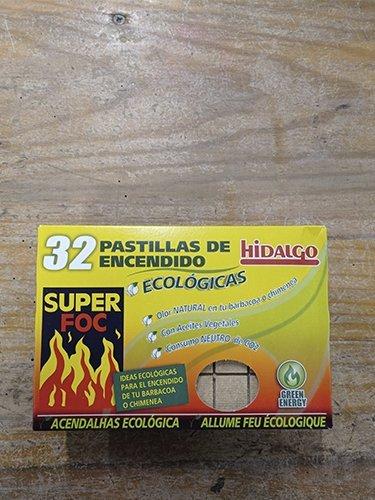 PASTILLAS DE ENCENDIDO ECOLÓGICAS HIDALGO