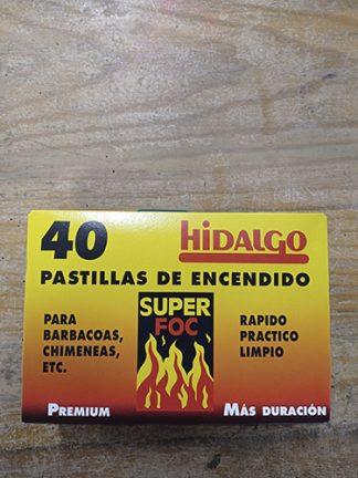 PASTILLAS DE ENCENDIDO HIDALGO