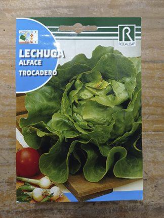 Semillas para plantar Lechuga trocadero marca Rocalba