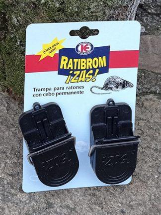 Trampa para ratones, Ratribrom con cebo permanente